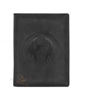 Cartera para el pasaporte emblema congreso de Magia de Estados Unidos - Harry Potter