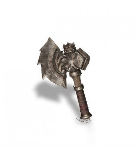 Réplica en PVC del hacha de Durotan - World of Warcraft