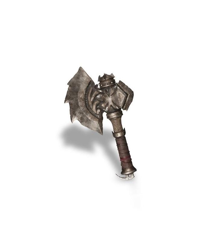 Réplica en PVC del hacha de Durotan - World of Warcraft