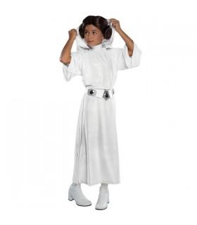 Disfraz infantil Princesa Leia con capucha Deluxe - Star Wars