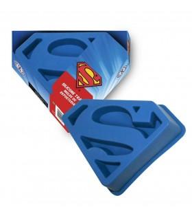 Molde de silicona para bizcocho emblema Superman - DC Comics
