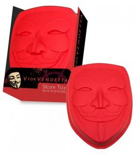 Molde de silicona para bizcocho - V de Vendetta