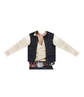 Camiseta manga larga hiperrealista para niño Han Solo - Star Wars