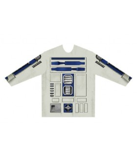 Camiseta manga larga hiperrealista para niño R2-D2 - Star Wars