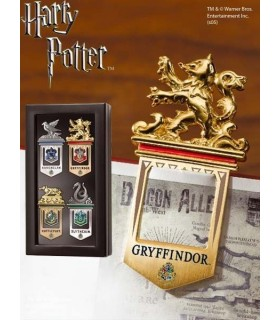 Puntos de Libro (marcapáginas) Harry Potter - Set de 4