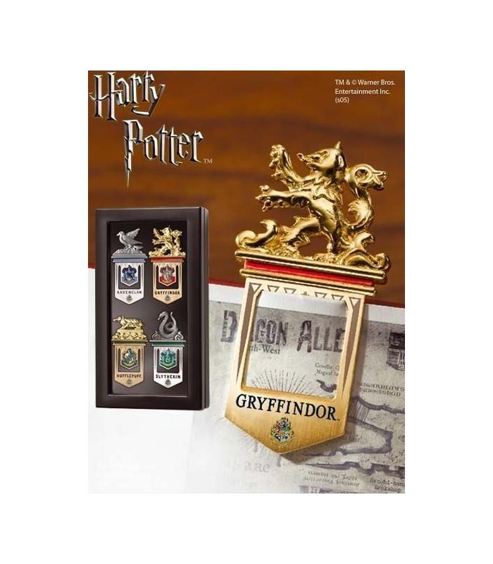 Puntos de Libro (marcapáginas) de Hogwarts - Set de 4
