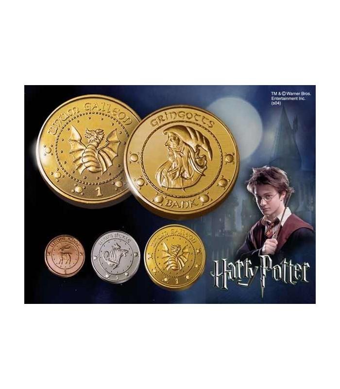Monedas de los Gnomos de Gringotts - Set de 3