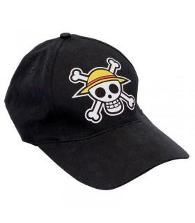 Gorra negra Sombrero de paja - One Piece