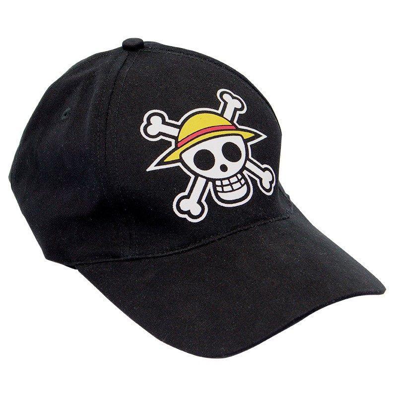 05011821608bd Gorra negra Sombrero de paja - One Piece ...