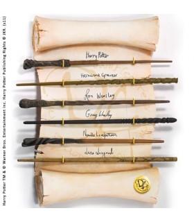 Expositor Colección de Varitas del Ejército de Dumbledore