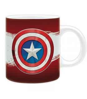 Taza escudo Capitán América - Los Vengadores