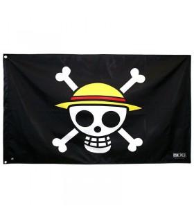 Bandera Jolly Rogers Sombrero de paja - One Piece