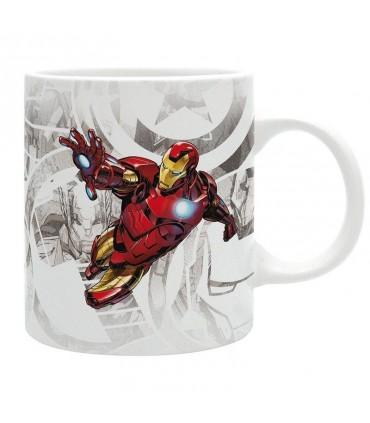Taza Iron Man - Los Vengadores