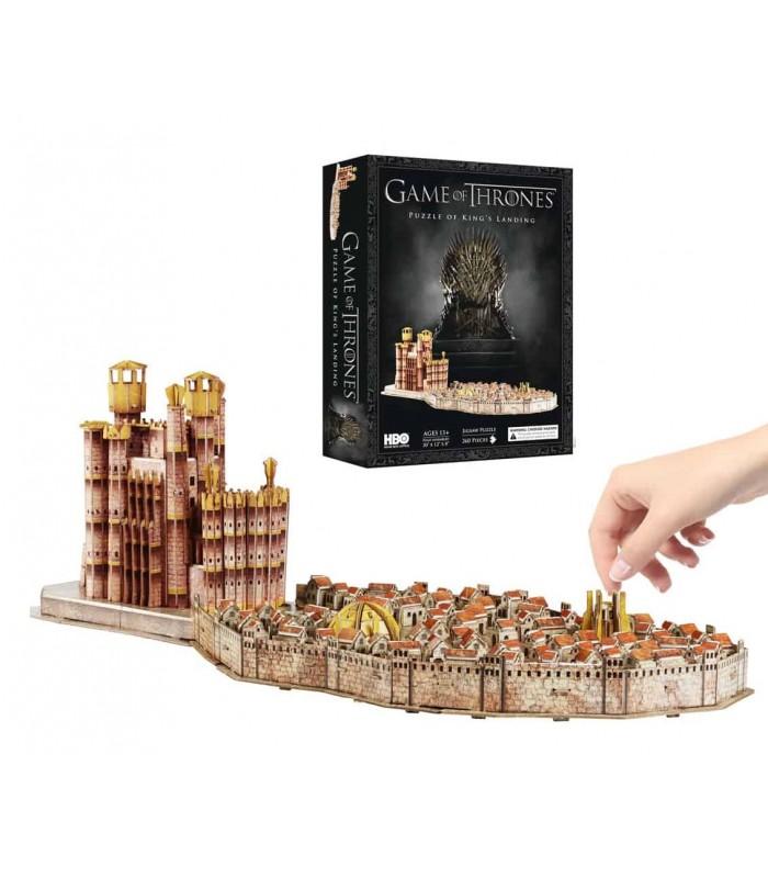 Puzle 3D Desembarco del Rey - Juego de Tronos