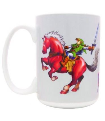 Taza Link y Epona  - The Legend of Zelda
