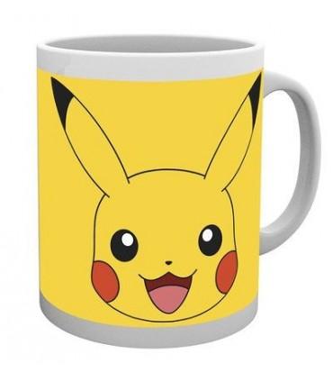 Taza cara de Pikachu - Pokemon