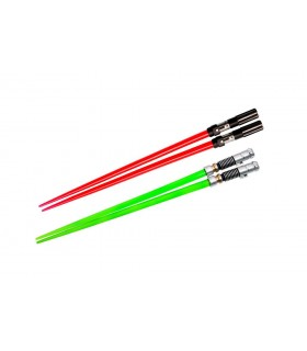 Palillos Chinos Espada Luz Luke Skywalker y Darth Vader - Star Wars