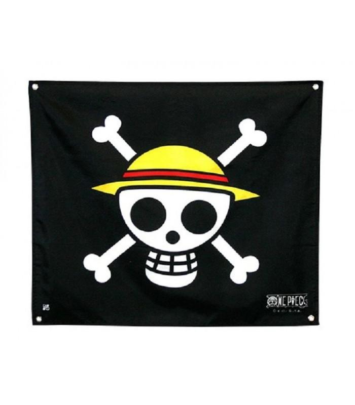 Bandera pequeña Jolly Rogers Sombrero de paja - One Piece