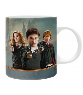 Taza Harry Ron y Hermione - Harry Potter