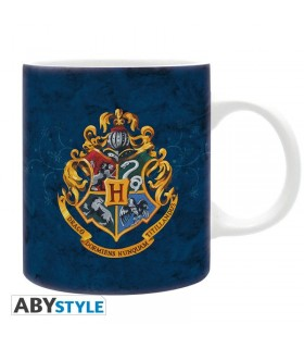 Taza azul Hogwarts - Harry Potter