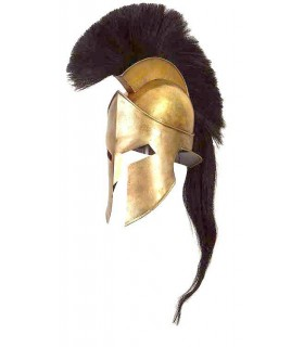 Yelmo Leónidas Esparta Replica Casco Escala 1:1 MUSEUM EDITION