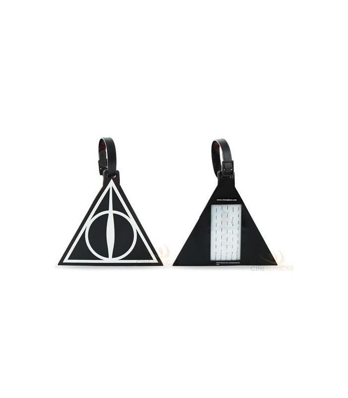 Etiqueta para equipaje Reliquias de La Muerte - Harry Potter