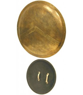 Escudo de Leónidas de Esparta Replica Escala 1:1 MUSEUM EDITION