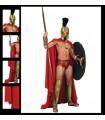 Capa de Leónidas de Esparta Replica Oficial Pelicula 300 M. E.