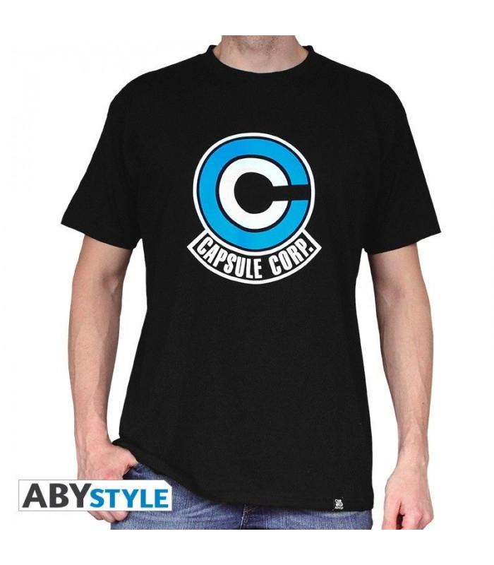 Camiseta Capsule Corporation - Dragon Ball