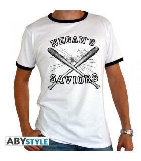 Camiseta blanca Negan's Saviors - The Walking Dead