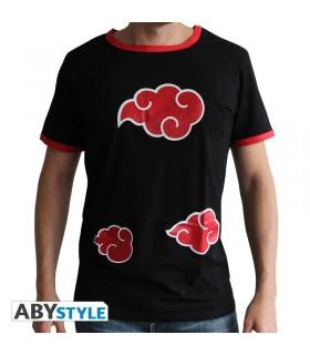 Camiseta negra Akatsuki - Naruto Shippuden