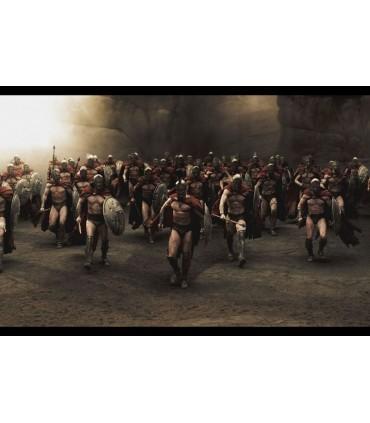Perneras (Armadura) de Leónidas de Esparta Replica Escala 1:1 M.