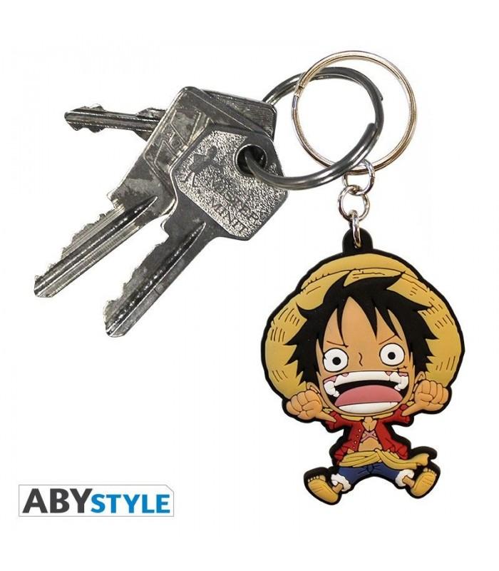 Llavero de PVC Luffy - One Piece
