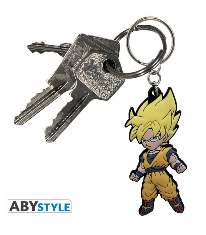 Llavero de PVC Goku Super Saiyan - Dragon Ball