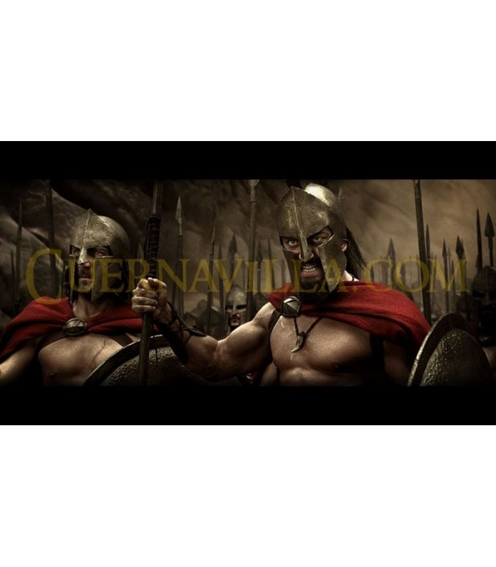 Broche Escudo de Leónidas de Esparta Replica MUSEUM EDITION