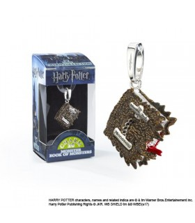 Abalorio Libro de los monstruos para pulsera Lumos- Harry Potter