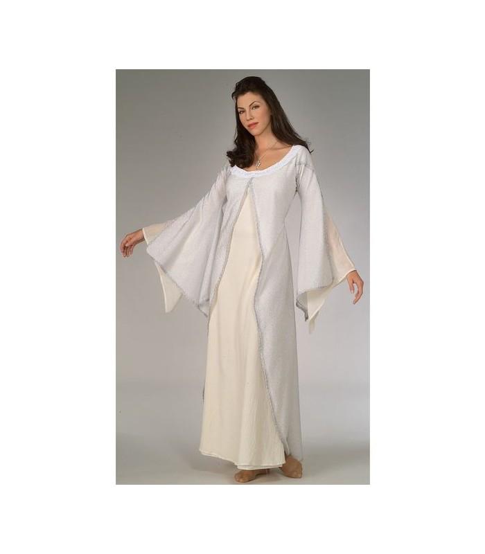 Disfraz blanco Arwen Deluxe - El Señor de los Anillos