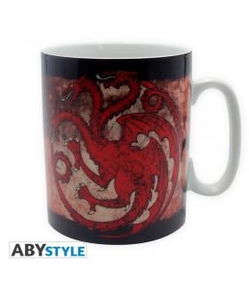 Taza grande Targaryen - Juego de Tronos
