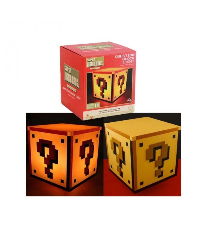 Lámpara USB Question Block - Mario Bros