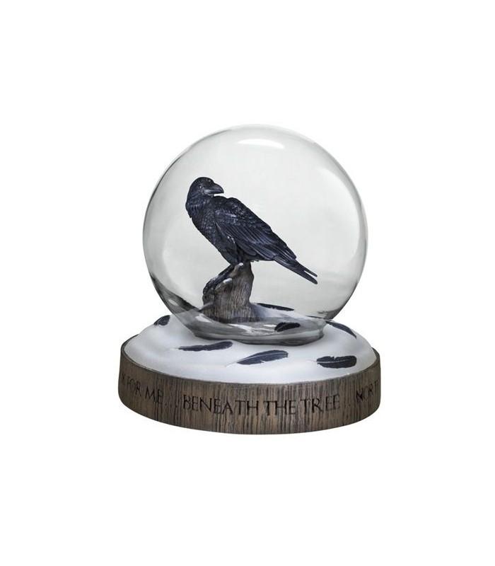 Bola de Nieve Cuervo de 3 ojos - Juego de Tronos