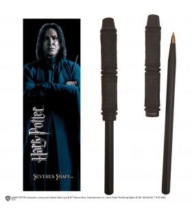 Set Punto de Libro y Bolígrafo Severus Snape - Harry Potter