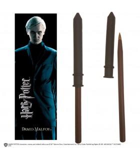 Set Punto de Libro y Bolígrafo Draco Malfoy - Harry Potter
