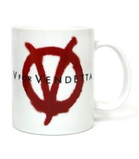 Taza logo- V de Vendetta