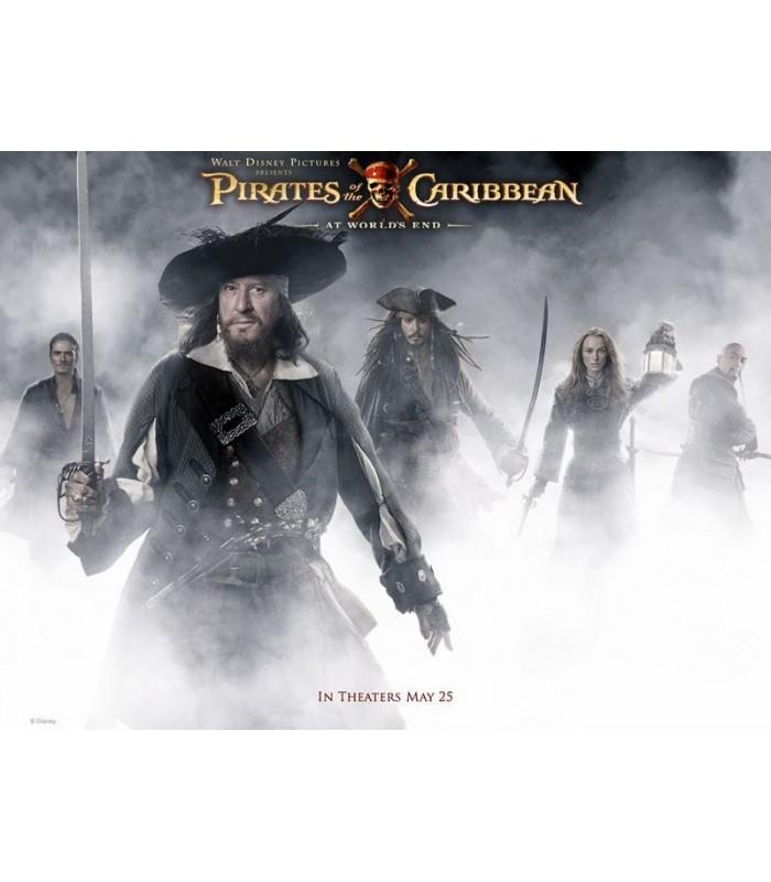 Espada de Hector Barbossa Réplica Piratas del Caribe Escala 1:1
