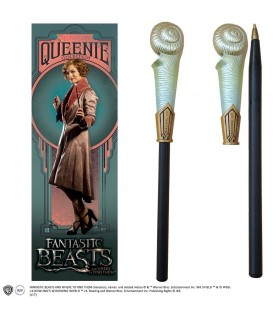 Bolígrafo con marcapáginas varita de Queenie Goldstein - Animales Fantásticos