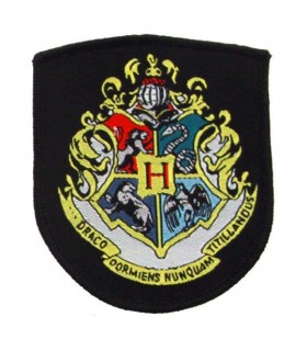 Escudo Tela Bordada Hogwarts - Harry Potter