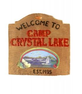 Cartel Bienvenidos a Crystal Lake - Viernes 13