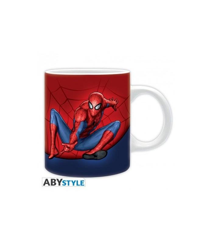Pack taza, llavero, pegatinas Spider-man - Marvel