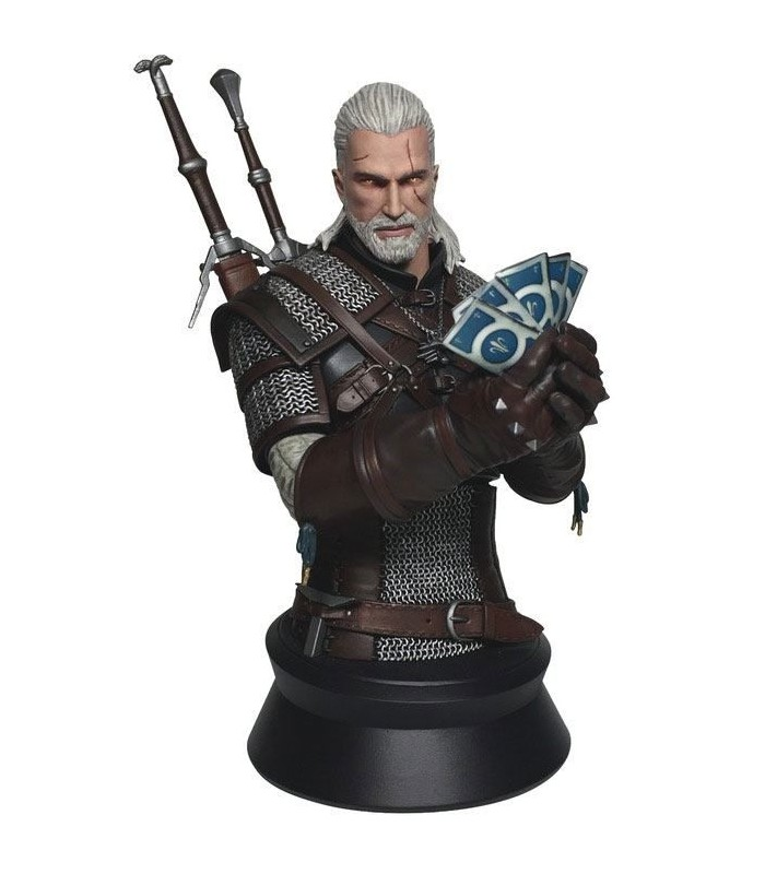 Busto de Geralt de Rivia - The Witcher
