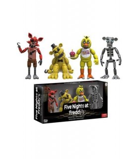 Five Nights at Freddy's Pack de 4 Figuras Funko